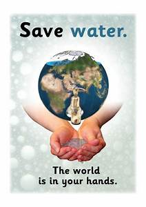 Save Water Poster | Free Early Years & Primary Teaching ...