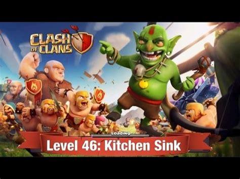 kitchen sink coc clash of clans level 46 kitchen sink walkthrough 2627