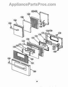 Parts For Thermador Prse484ggs  Door Parts