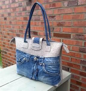 Retro Rucksack Selber Nähen : schultertaschen schultertasche lena mit jeans ein designerst ck von die kreativen adern ~ Orissabook.com Haus und Dekorationen