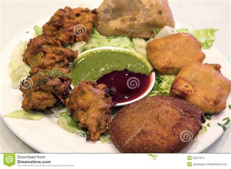 east indian cuisine east indian food appetizer dish closeup stock image