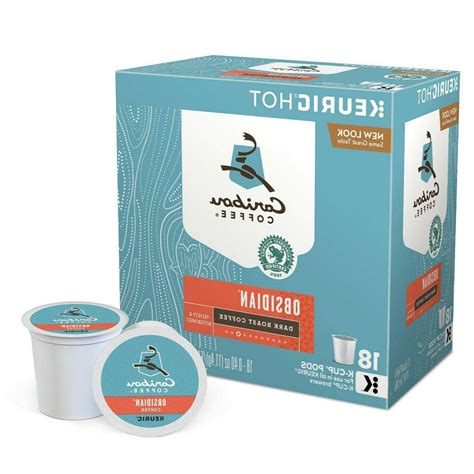 ( 4.5 ) stars out of 5 stars 268 ratings , based on 268 reviews 2 comments Caribou Obsidian Dark Roast Coffee Keurig K-Cups