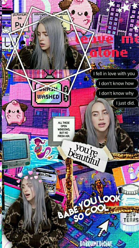 billie eilish background    dream squad