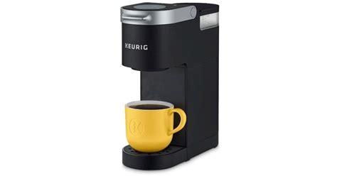 Just add fresh water for each brew. Keurig K-Mini Single Serve Coffee Maker $49.99 (2018 Black Friday Deal)