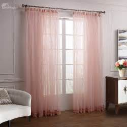 european style embroidered sheer curtain eyelet window