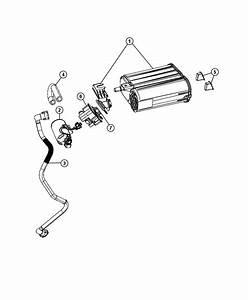 2007 Dodge Grand Caravan Filter  Leak Detection Pump  Leak