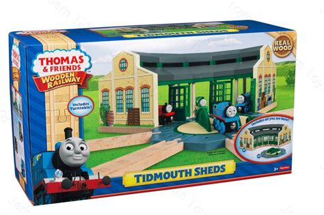 Tidmouth Sheds Wooden Turntable by The Tank Engine Tidmouth Sheds Plato Giratorio