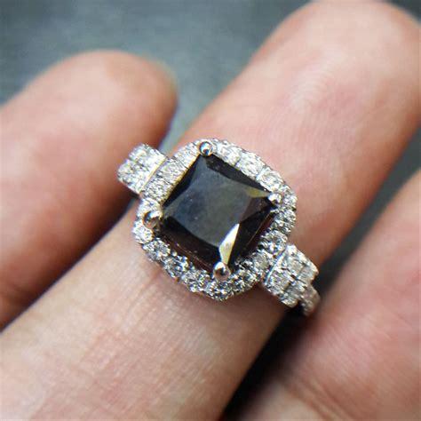 jual cincin wanita berlian hitam black 0336 ring emas berlian cincin dan batu batu