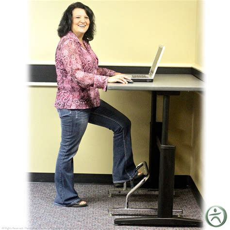 standing desk foot rest stand2learn standing desk footrest shop standing desk