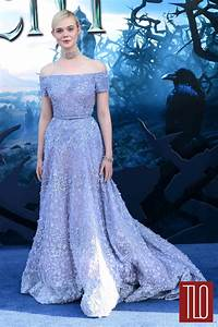 "Elle Fanning in Elie Saab Couture at the ""Maleficent ..."