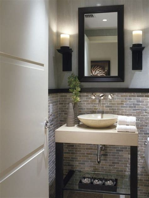 Half Bathroom Ideas Photo Gallery by 25 Best Ideas About Half Bath Remodel On Half