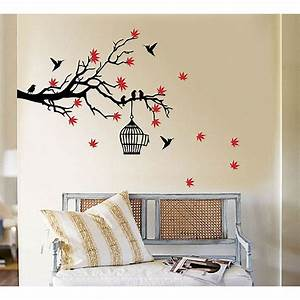 tree branch wall art design decoration With kitchen cabinets lowes with birds on a branch metal wall art