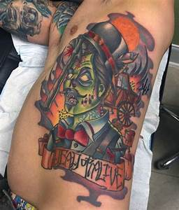 Traditional Zombie Tattoos | www.pixshark.com - Images ...