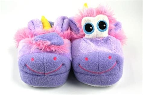 unusual unicorn stompeez slippers neatorama