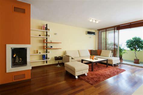 soggiorno arancione i migliori colori delle pareti per un soggiorno moderno