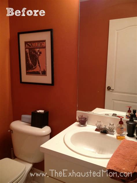 redecorating bathroom ideas a guest ready bathroom easy redecorating the exhausted