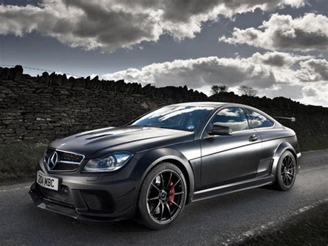 The new model features update 06/14/2012: Photo: The C63 AMG Black Edition in Black