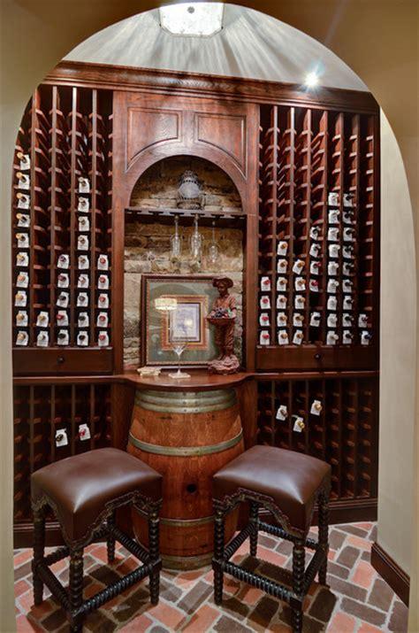 atlanta basement designbuild traditional wine cellar