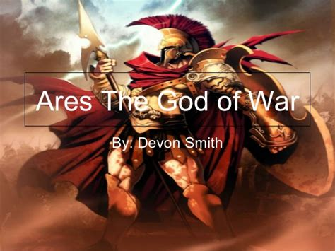 Ares The God Of War
