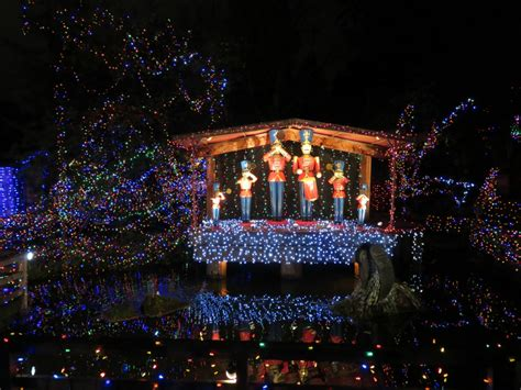 where to go see christmas lights vancouver magnificent