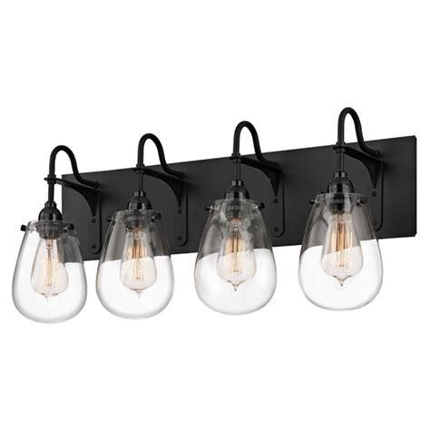 Industrial Bathroom Light Black Chelsea By Sonneman