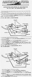 American Flyer Semaphore 758 Instructions