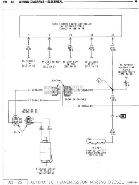 Fsm Wiring Diagram Needed Dodge Diesel