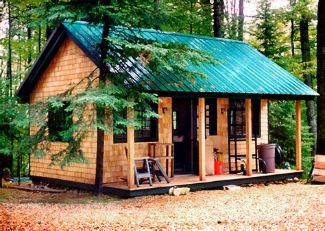 16x20 shed plans with porch kits plans and prefab cabins from the jamaica cottage shop
