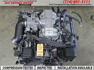 92-97 Toyota Engine Jdm 1uz-fe Lexus Sc400 Motor Ls400 Gs400 1uz V8 4 0l