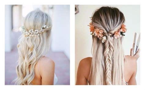 acconciature capelli lunghi idee semplici  alla moda