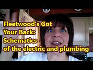 Fleetwood Rv Electric And Plumbing Schematics