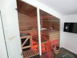 Sauna Unter Dachschräge : foto impressionen von massivholz saunen unserer kunden ~ Sanjose-hotels-ca.com Haus und Dekorationen