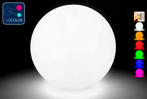 boule lumineuse led multicolore sans fil 80 cm 60