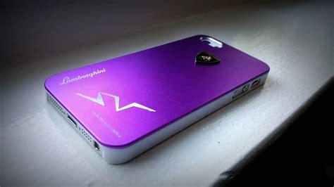iphone  aluminum metallic purple igot lamborghini case
