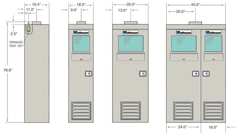Gas Cabinet by 1170f Series Cylinder Cabinet Matheson Store