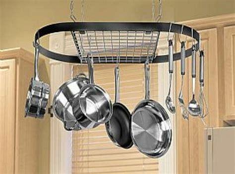 Kitchen Hooks For Pot Holders by Kitchen Storage Hanging Pot Holder Pan Hanger Utility