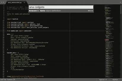 Anaconda Python Goto Definition Ide Github Sublime