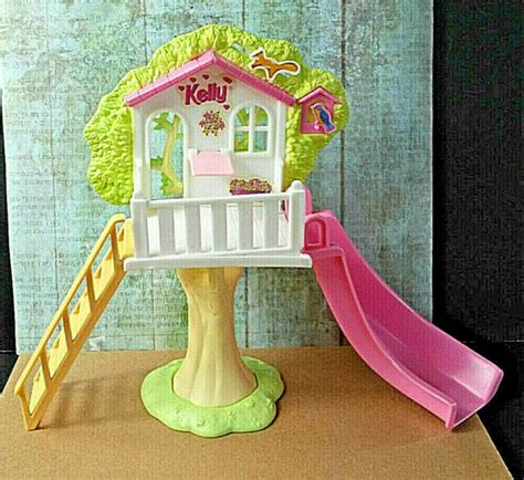 Tree house designs backyard garden exterior landscape tree house outdoor architecture tree. Barbie Kelly Playground Treehouse Vintage 1997 For 4 ...