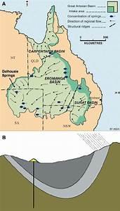 The Great Artesian Basin   A  Extent Of Great Artesian Basin  Showing