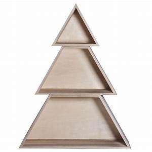 Arbre De Noel En Bois : arbre de no l en bois d corer rayher chez ~ Farleysfitness.com Idées de Décoration