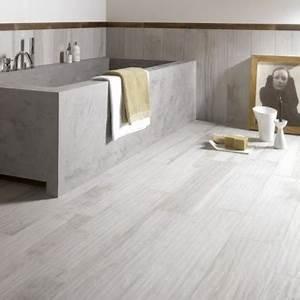 du carrelage deco dans une salle de bain grise With carrelage adhesif salle de bain avec decoration de noel exterieur a led