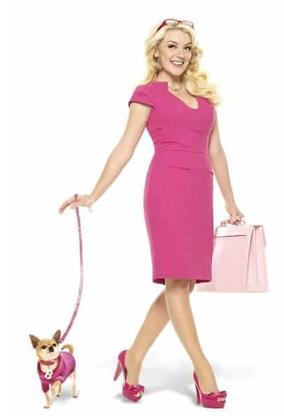 Legally Sheridan Blonde Smith Elle Woods Musical