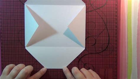 tuto scrap creation dune enveloppe youtube