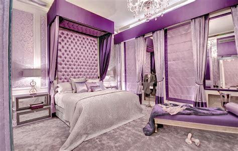 chambre violet et chambre violette 20 idées décoration pour un chambre