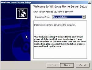 Tips Spain: Instalación de Windows Home Server