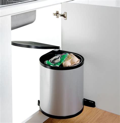 Cupboard Bin by Classic Waste Bin Silver The Range Of