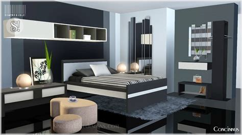 Sims 3 Bedroom Ideas by My Sims 3 Concinnus Bedroom Set By Simcredible Designs