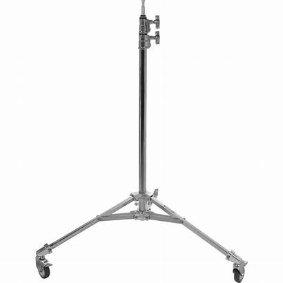 Stand Avenger Roller Base Low Plated Chrome
