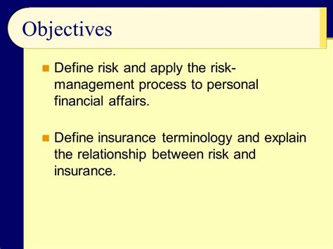 Risk Management And Property/liability