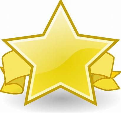 Award Clipart Clip Recognition Star Appreciation Ribbon